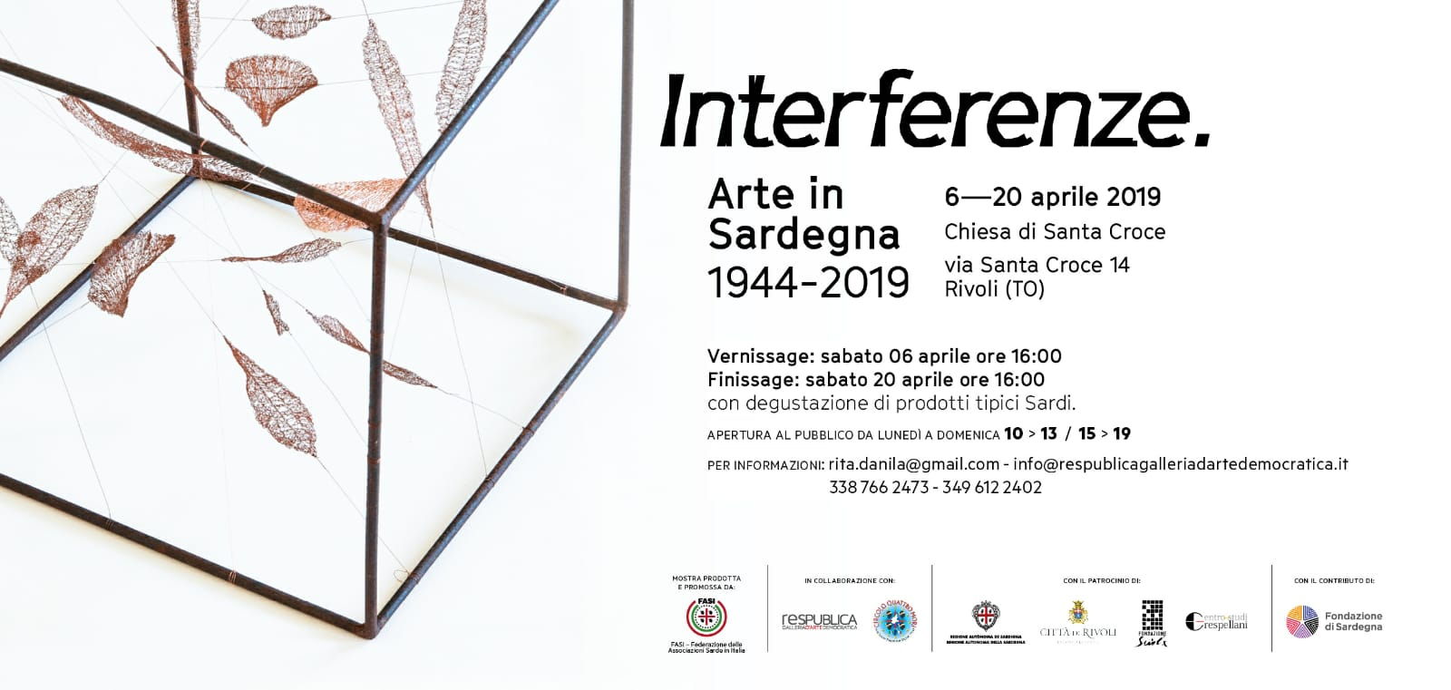 mostra interferenze